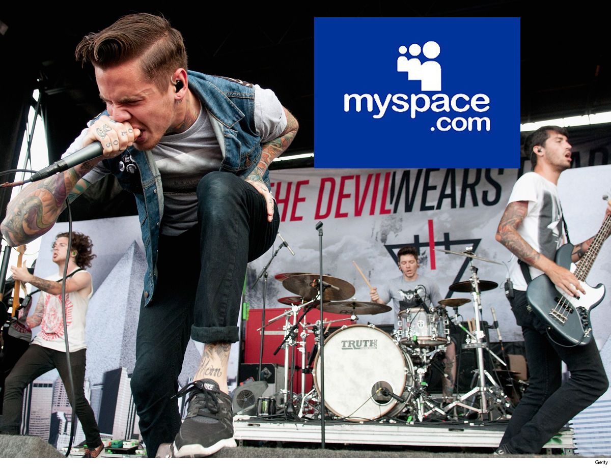 The Devil Wears Prada Myspace Deleted Our Songs ... So Good Riddance!!!