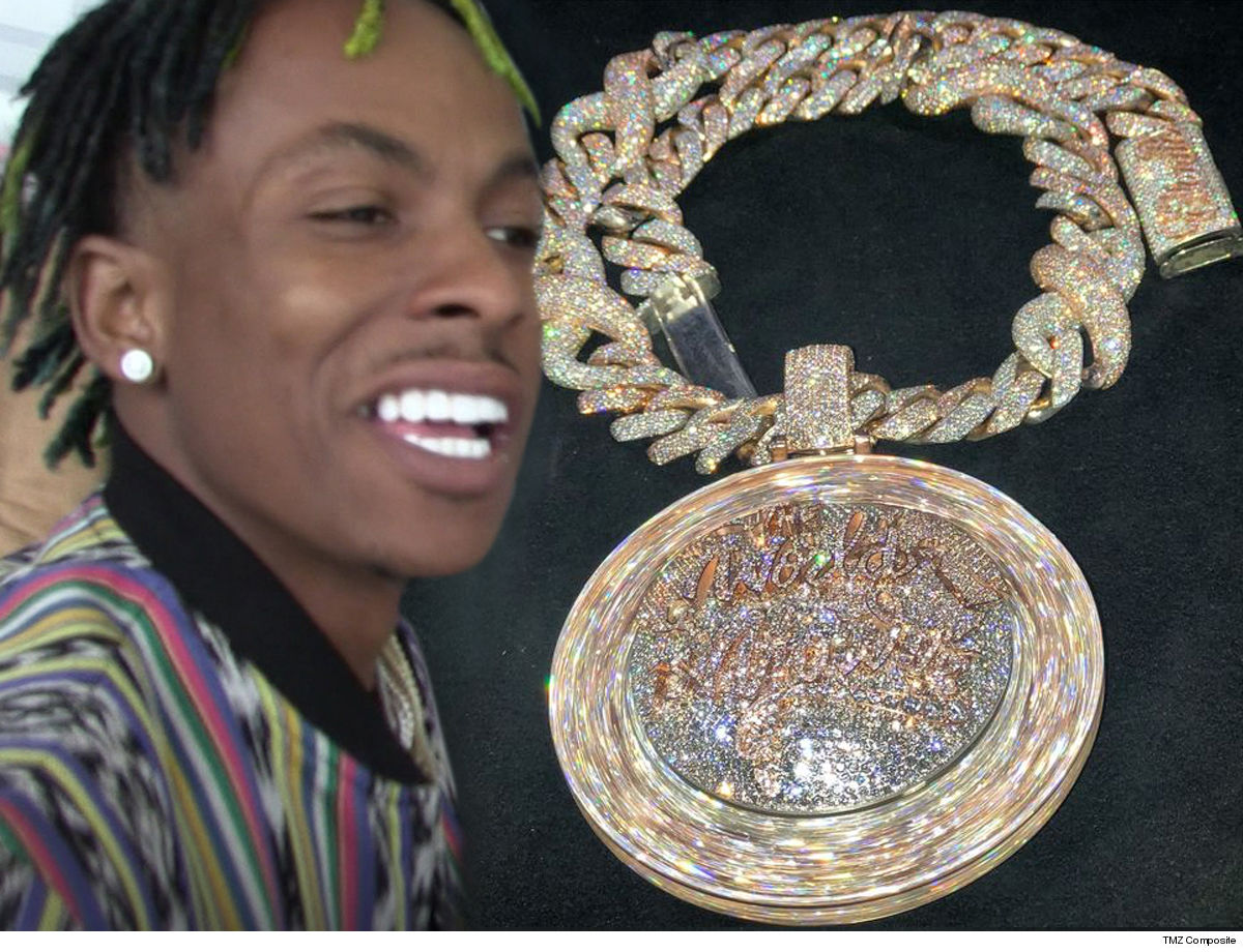 Rich the Kid Spins the Wheel of Fortune w/ $450k Chain!!!