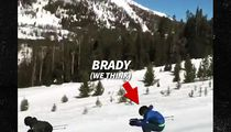 Tom Brady Bombs Down Ski Slope, Patriots Fans Freak Out