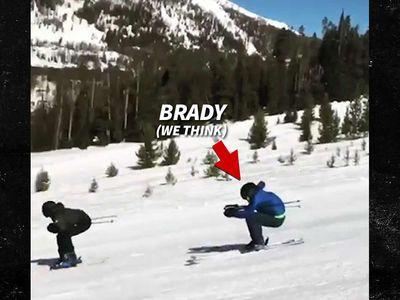 Tom Brady Bombs Down Ski Slope, Patriots Fans Freak Out