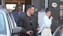 Kylie Jenner and Travis Scott Have Dinner Together with Stormi