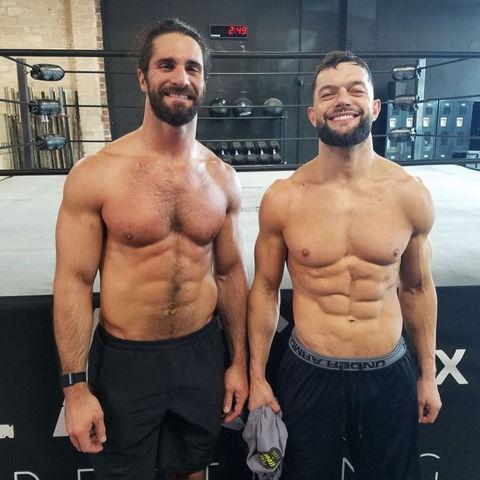 Seth Rollins (32) vs. Finn Bálor (37) -- WWE Edition