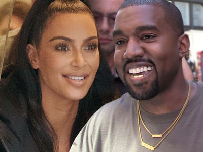 Kim Kardashian and Kanye West Sell New Yeezys At Lemonade Stands for Charity