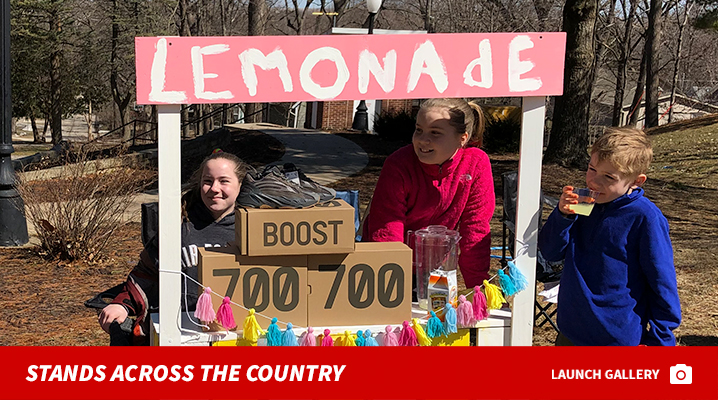 e787c9551 Kim Kardashian and Kanye West Sell New Yeezys At Lemonade Stands for ...