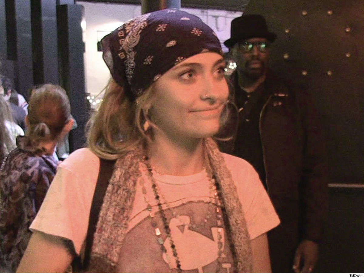 Paris Jackson 180 From Suicide Scare ... On The Right Track to Recovery