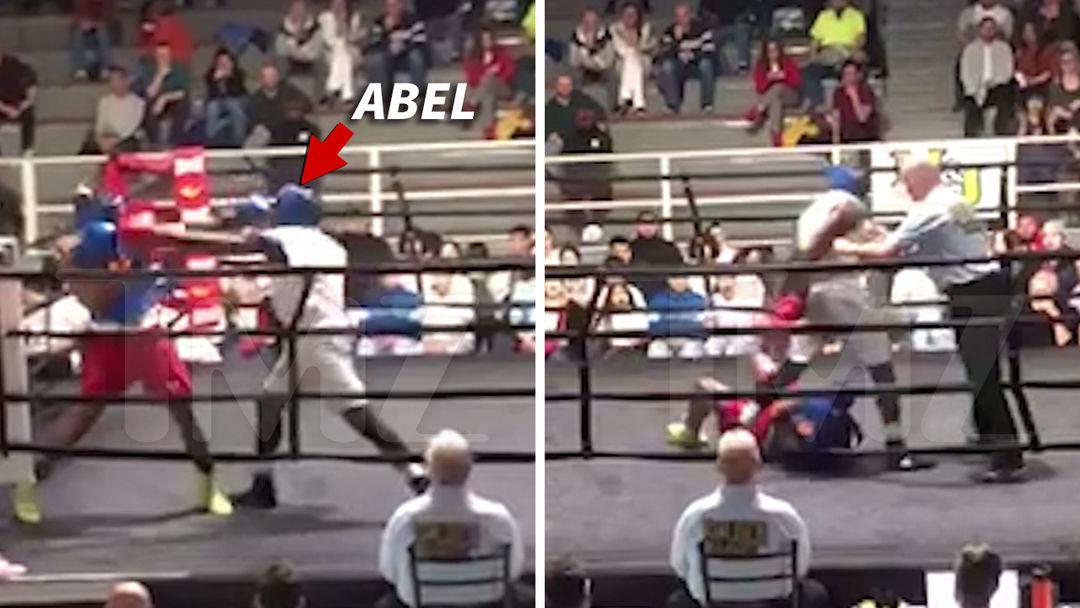 Confirm. amateur clip fight