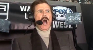 Will Ferrell as Ron Burgundy Calls L.A. Kings Game, It's Kind of a Big Deal