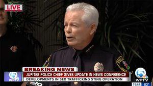 Police Chief Daniel Kerr Announces Charges Against Robert Kraft