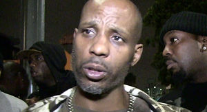DMX and Crew Leave L.A. Restaurant in Another Diner's Corvette