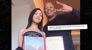 Dr. Dre Gloats Over Daughter's Acceptance Into USC with 'No Jail Time'