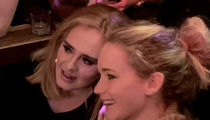Adele and Jennifer Lawrence Hit Up New York City Gay Bar