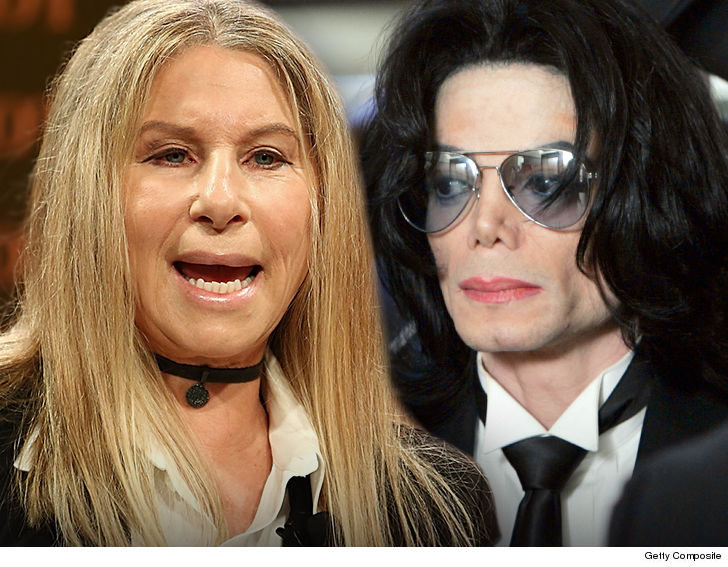 Barbra Streisand, Michael Jackson's Child Molestation Fulfilled 'Sexual Needs'