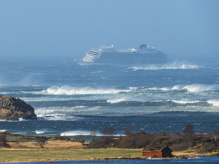 Cruise Ship Evacuating 1,300 People After Issuing Mayday in Norway
