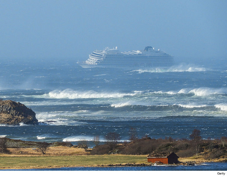 Cruise Ship Evacuation Mayday in Norway Scary Footage from the Tilting Ship!!!