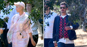 Katy Perry and Orlando Bloom Attend Kanye's Sunday Service