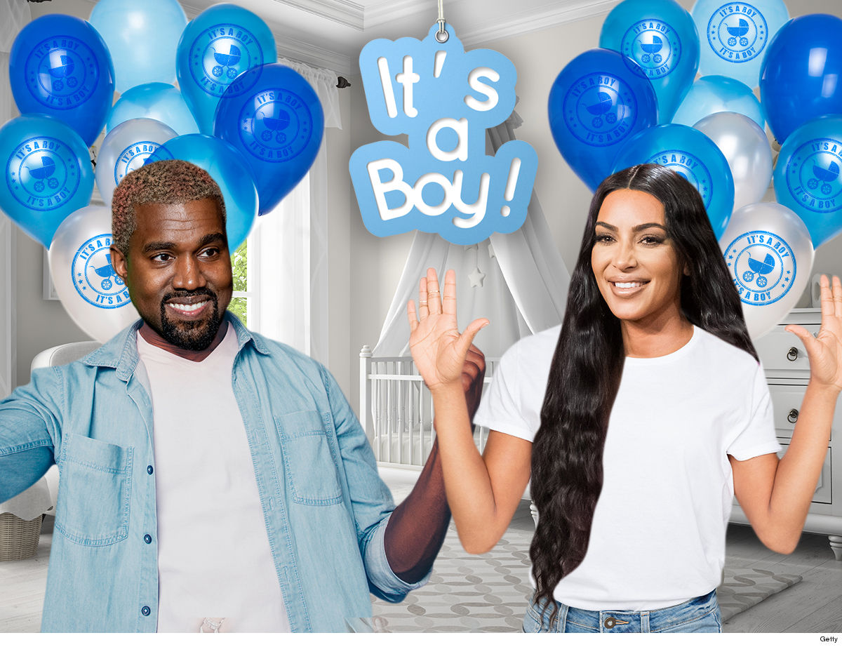 Kim Kardashian and Kanye West's Surrogate is in Labor with Fourth Child