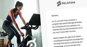 Peloton Says It's Removing All Classes with Songs in Publishing Lawsuit