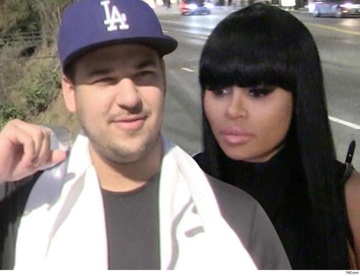 Rob Kardashian & Blac Chyna Settle Child Support War ... Rob Catches Huge Break