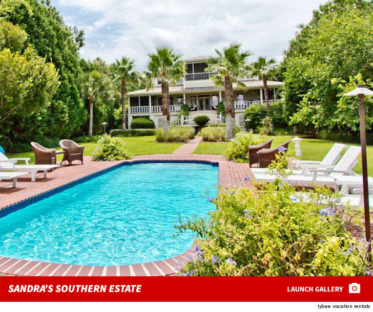 Sandra Bullock Oceanfront Estate Hits Market ... For $6.5 Million