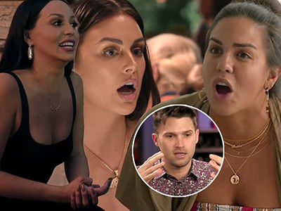 Scheana Sells Lala Out to Lisa Before Katie GOES OFF on 'S----y Husband' Tom Schwartz