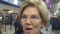 Elizabeth Warren's Energized By Campaign Trail, Runs to Catch Train