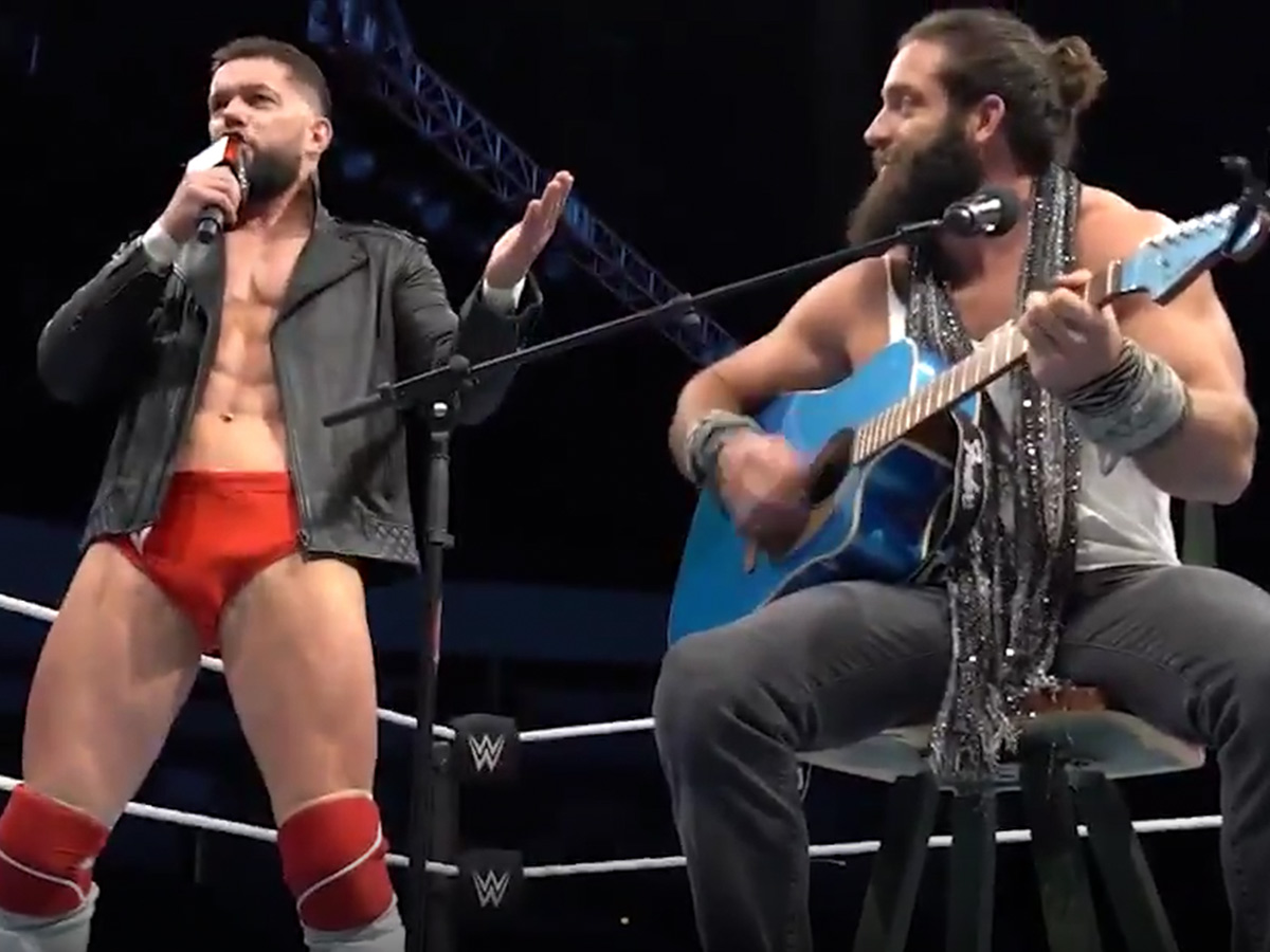 WWE Superstars Perform 'Shallow' In Man Panties ... And Crush It!!!