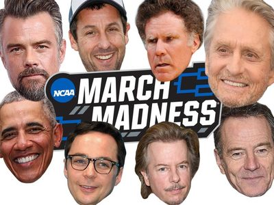 March Madness Celeb Brackets! Who's Leading After Round Two? -- And What Is Will Ferrell DOING?