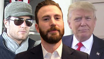 Chris Evans Might Cut Ties with Tom Brady Over Support for 'Dumb Sh*t' Trump