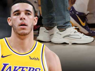 Lonzo Ball Rocks $1,000 Designer Shoes After Ditching Big Baller Brand