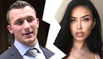Johnny Manziel's Wife Bre Tiesi Wipes QB From Social Media, Breakup?