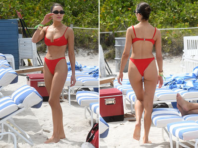 Olivia Culpo Enjoys Girls Day at the Beach without Danny Amendola
