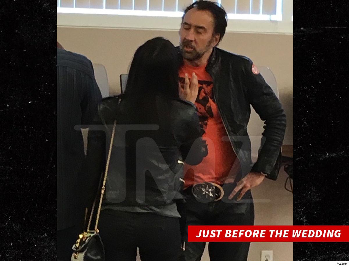 Nicolas Cage Angrily Sings 'Purple Rain' Following Split With Wife