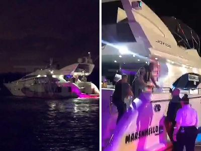 Marshmello's Party Boat Gets Surprise Inspection by Miami Coast Guard