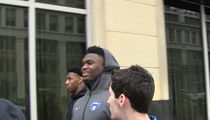 Zion Williamson's Blown Out Nike Shoe is Missing, $250,000 Mystery!