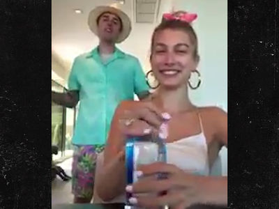 Justin Bieber  Proves He Can Still Sing During Hailey's IG Live Plug
