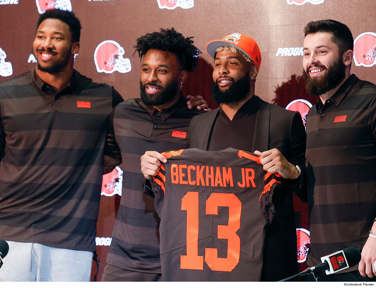 72dfda22c ... the Browns officially introduced OBJ on Monday ... and there s a lot of  talk about Cleveland being serious contenders with guys like Baker Mayfield