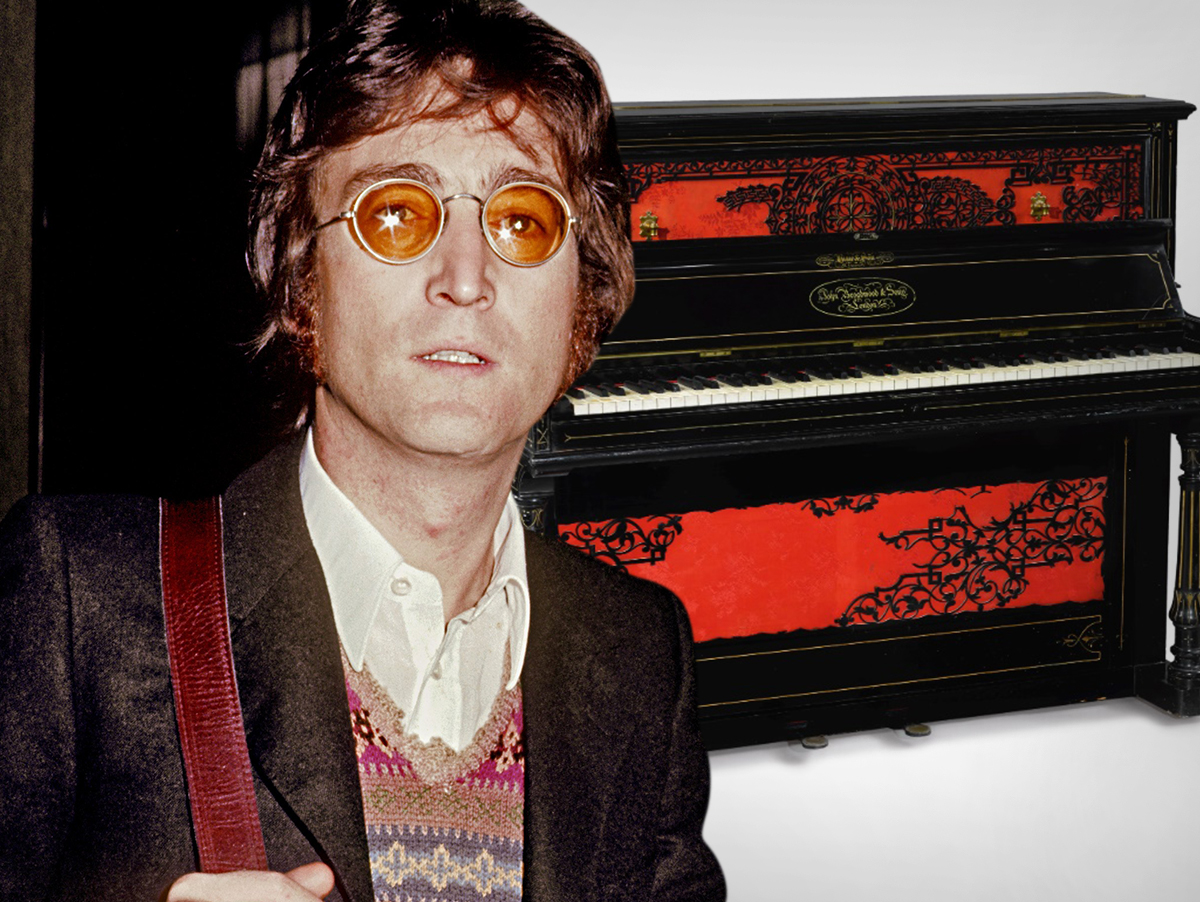 John Lennon 'Sgt. Pepper's'-Era Piano Hits Auction Block