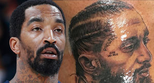JR Smith Gets Nipsey Hussle Leg Tattoo, 'Long Live Nip!'