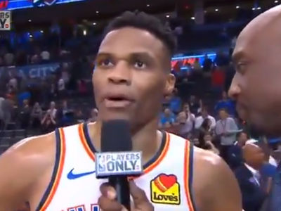 Russell Westbrook Dedicates Historic 20-20-20 Game to Nipsey Hussle