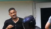 Will Smith Films Fight Scene for 'Bad Boys' 3, Hold the Stunt Double