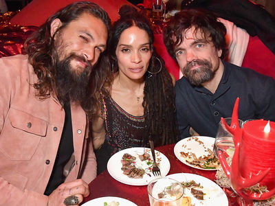 Jason Momoa, Peter Dinklage Hit Up 'Game of Thrones' Premiere After-Party
