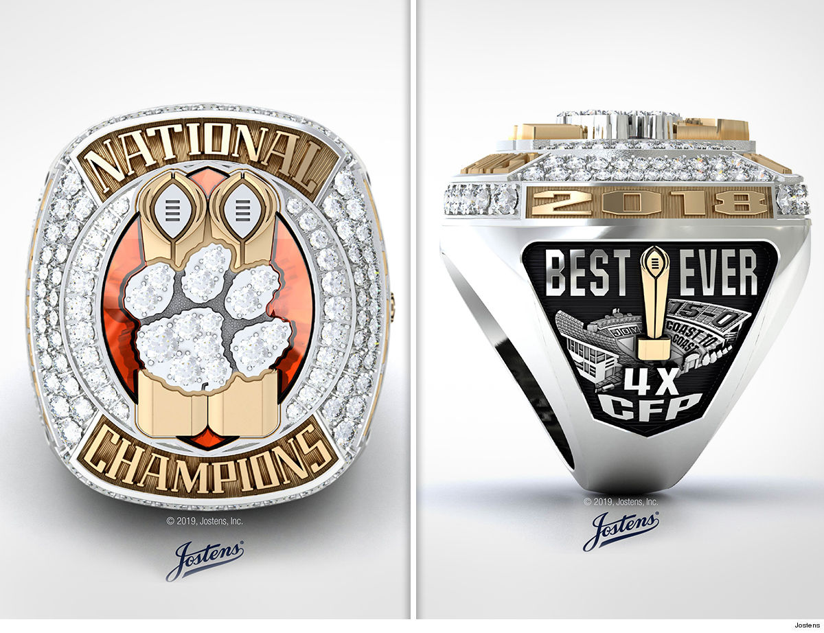 Clemson's Epic National Championship Rings Include Alabama Shade