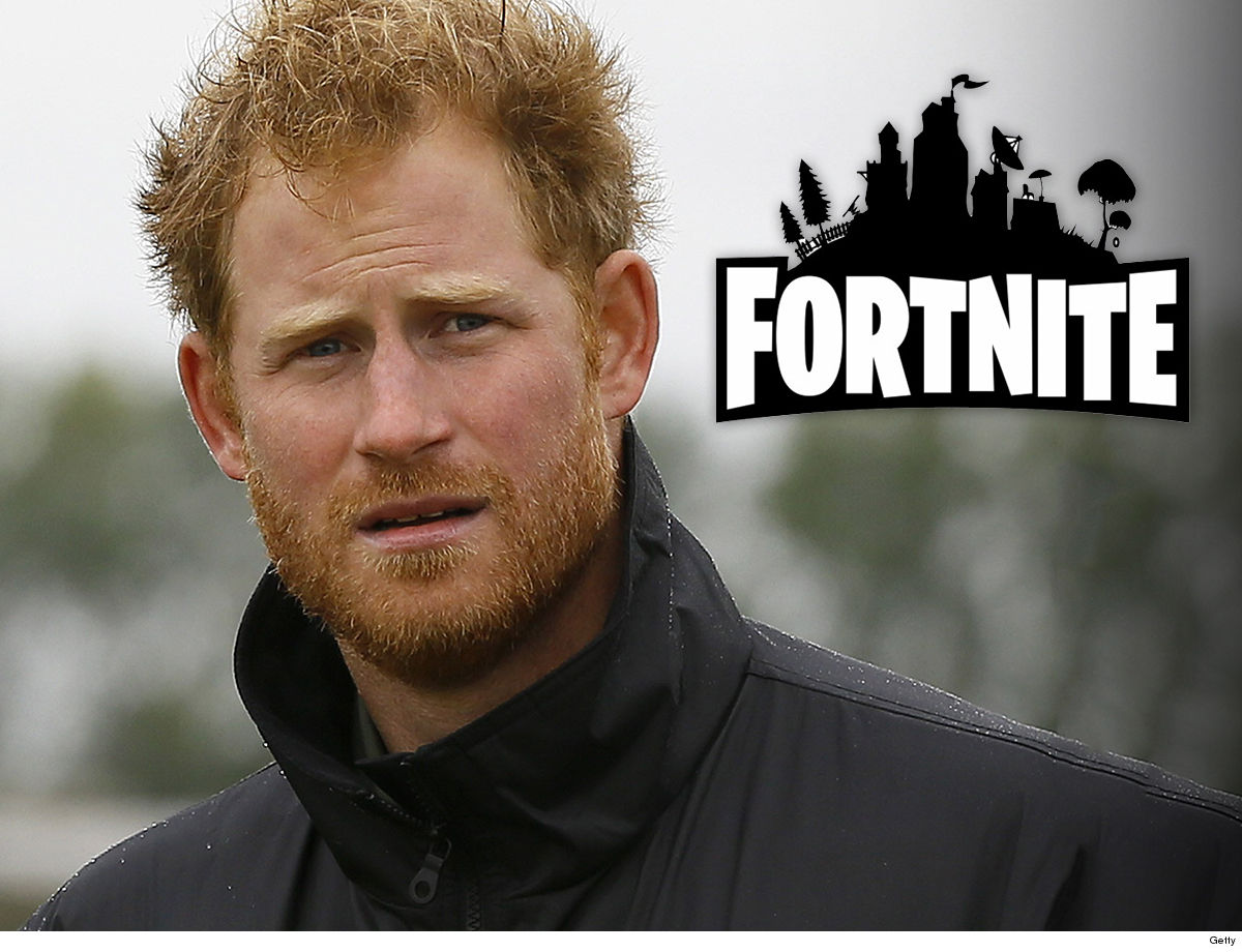 8a937138301 Prince Harry s officially in dad territory -- using his royal platform to  blast Fortnite