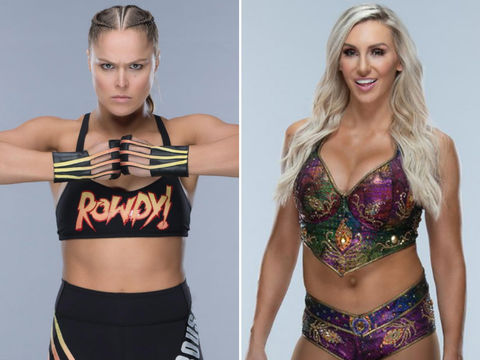 Ronda Rousey (32) vs. Charlotte Flair (32) -- Wrestlemania 35 Edition