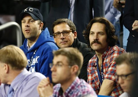 Jason Sudeikis, Steve Carell and Paul Rudd