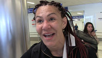 Cris Cyborg Says She's Rooting For Ronda Rousey At WrestleMania