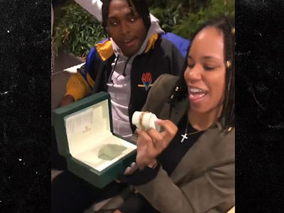 Jalen Ramsey Gets His Baby Mama A Birthday Rolex, 'Icier Than Me!'