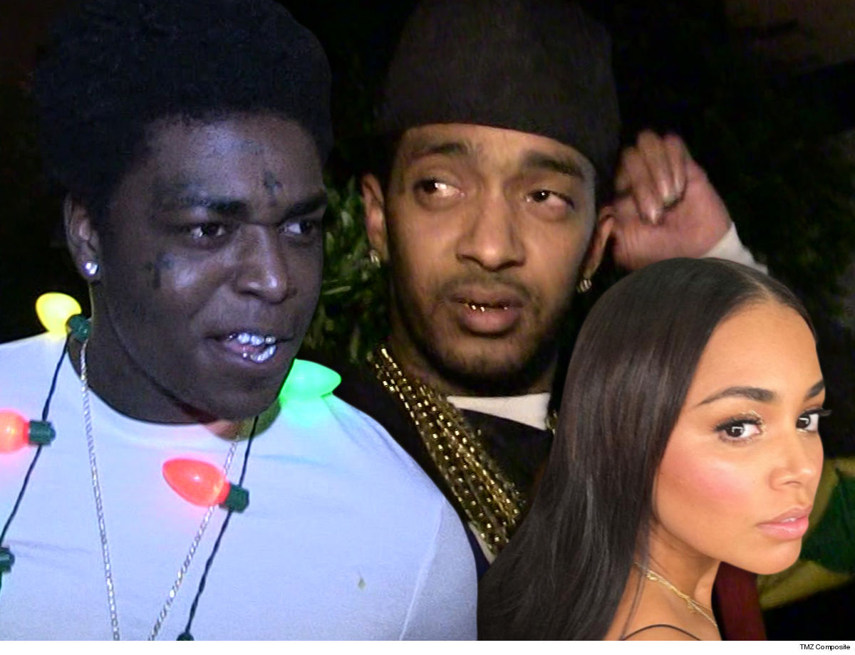 Kodak Black being disrespectful to Nipsey Hussle's family during leaked convo