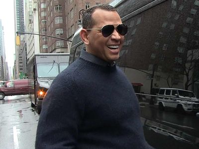 A-Rod Asked if Wedding to J Lo Should Go Down at Yankee Stadium