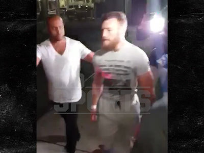 Conor McGregor Settles Phone Smashing Lawsuit
